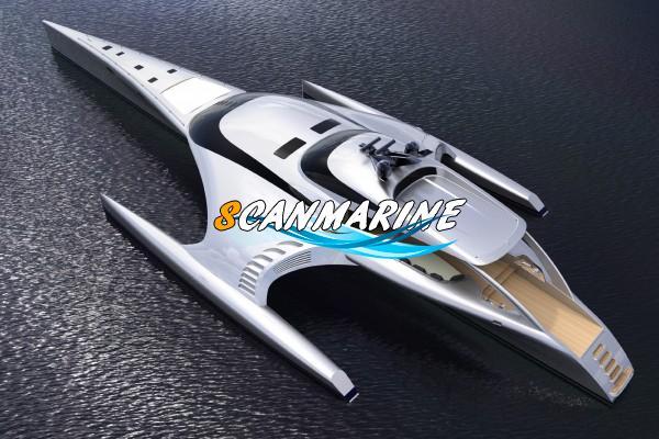 Суперяхта, похожая на космический корабль, появится в Китае