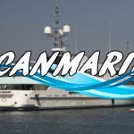 Моторная яхта Solemar на выставке в Монако
